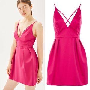 [Topshop] NWT Cross Front Mini Valentine's Dress